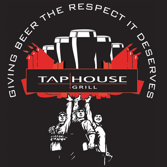tap house grill shirt